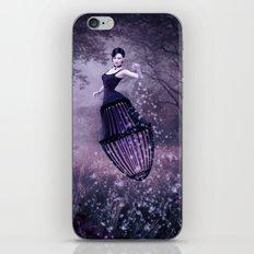 Black magic fairy iPhone & iPod Skin