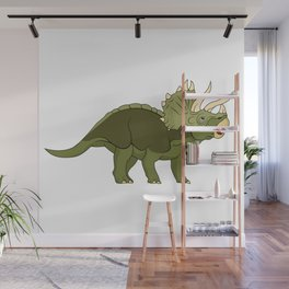 Triceratops Wall Mural