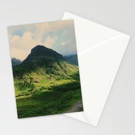 Mountain in Glencoe, Scotland Stationery Cards