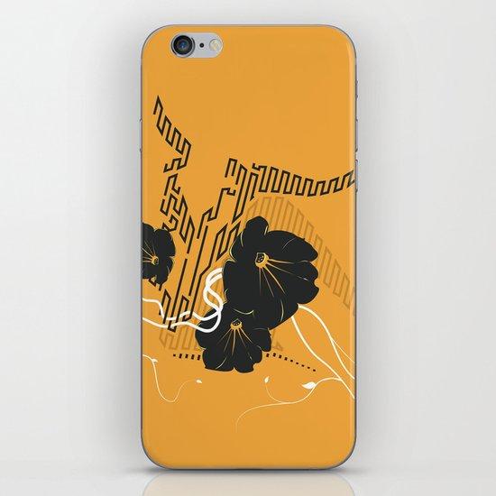 Untitled Art - Orange iPhone & iPod Skin