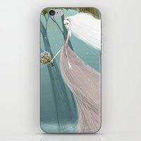 bride iPhone & iPod Skins featuring Bride by 7043