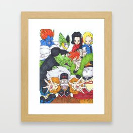the androids. Framed Art Print