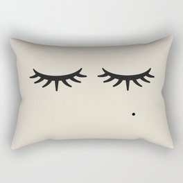 Bat of the Lashes Rectangular Pillow