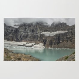 Grinnell and Salamander Glaciers, Soon Things of the Past Rug