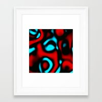 pain Framed Art Prints featuring Pain by Christy Leigh
