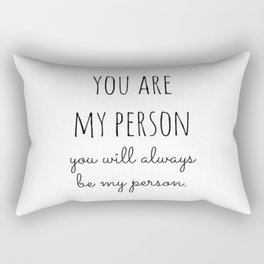 My Person Rectangular Pillow