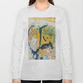 blue cat home Long Sleeve T-shirt