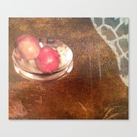 thanksgiving Canvas Prints featuring Thanksgiving by Bonnie M. Cummings ~ BeauCollage