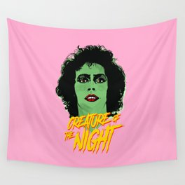 Creature of the night -The Rocky Horror Picture Show Wall Tapestry