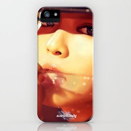 Jennie - Black Pink (Square Two) iPhone Case