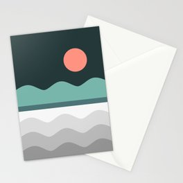 Abstract Landscape 06 Stationery Cards