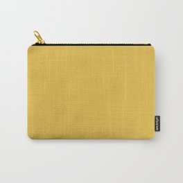 Mustard Yellow  Solid Colour Carry-All Pouch