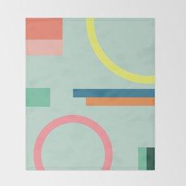 Modern Geometric 71 Throw Blanket