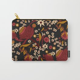 Australian Natives Red Blossom Carry-All Pouch