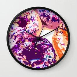 Donut-Fest Wall Clock