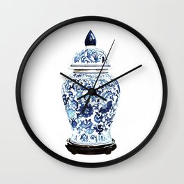 GINGER JAR NO. 4 PRINT Wall Clock