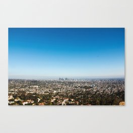 You Are My Heart, LA! Canvas Print