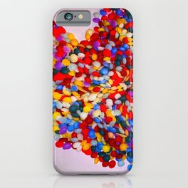 Heart of Rainbow Sprinkles iPhone Case