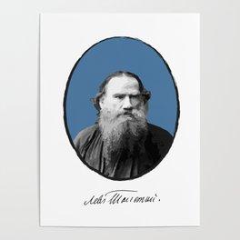 Authors - Lev Tolstoj Poster