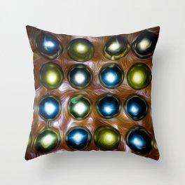 Dazzeled Throw Pillow