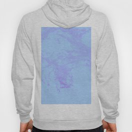 Purple Cotton Candy Acrylic Fluid Artwork Clouds Hoody