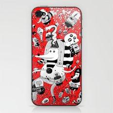 rot zeichentusche  iPhone & iPod Skin