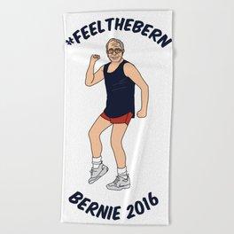 #feelthebern Beach Towel