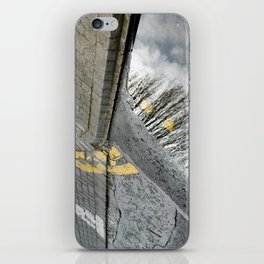 Road tree iPhone Skin