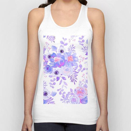 Lilac lavender violet pink watercolor elegant floral by pink_water