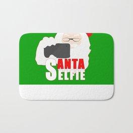 Santa Selfie Bath Mat