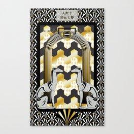 Art Deco Canvas Print