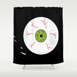 Just the Way Eye Roll Shower Curtain