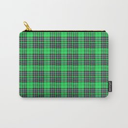 Lunchbox Green Plaid Carry-All Pouch