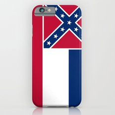 State Flag of Mississippi iPhone 6s Slim Case