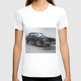 GM Dark Blue Grand National Regal T-type Turbo T T-shirt
