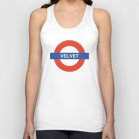 velvet underground Tank Tops featuring Velvet Underground by WALRUS