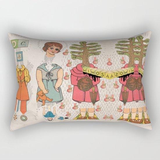 Silly Girls Rectangular Pillow