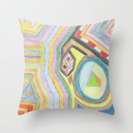 Alchemy 1 Throw Pillow