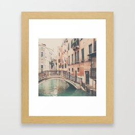 wandering the streets of Venice ... Framed Art Print