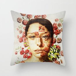 Face #1 Throw Pillow