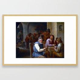 David Teniers II Country Pub Framed Art Print