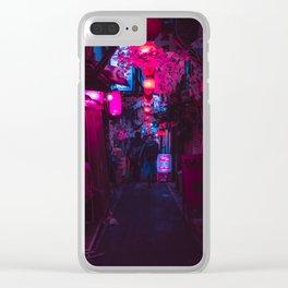 Omoide Yokocho Clear iPhone Case