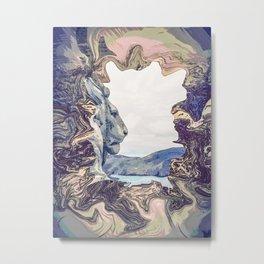 Leo Spelea Metal Print