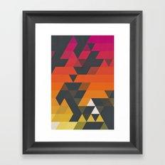 myss symmyr Framed Art Print