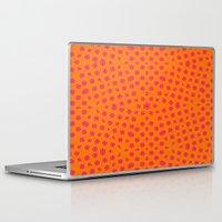 orange pattern Laptop & iPad Skins featuring orange Pattern by LoRo  Art & Pictures