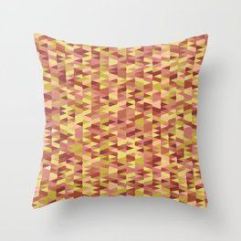 Pointy-Canyon colorway Throw Pillow