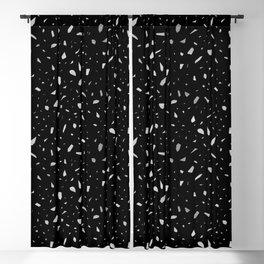 dark chunky Blackout Curtain