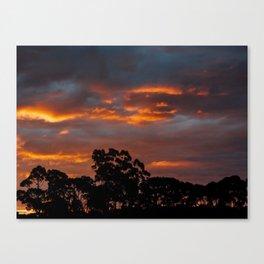 Tasmania Sunset Canvas Print