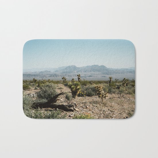 Nevada Desert Scene Bath Mat