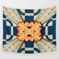 zentangle Wall Tapestries featuring Zentangle by Trevor Seymour